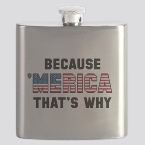 Because 'Merica Flask